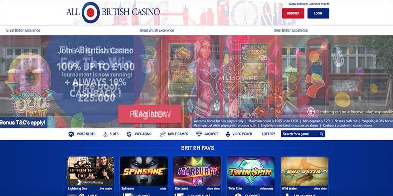 All British Casino – Revisión de la Gaceta del Casino