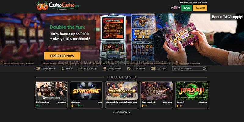 Revisión de CasinoCasino – Casino Gazette Recomendado