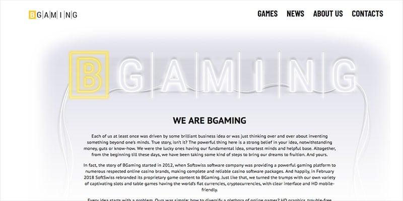 Desarrolladores de juegos de casino en línea y empresa de software