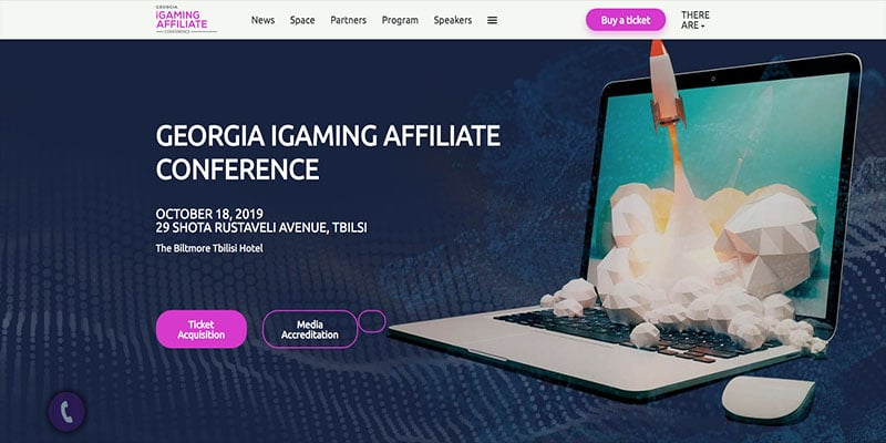 Conferencia de afiliados de Georgia iGaming